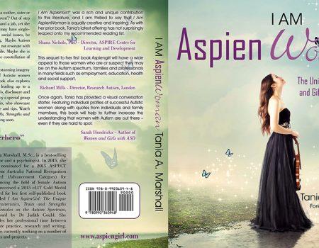 I Am Aspien Woman Print Book