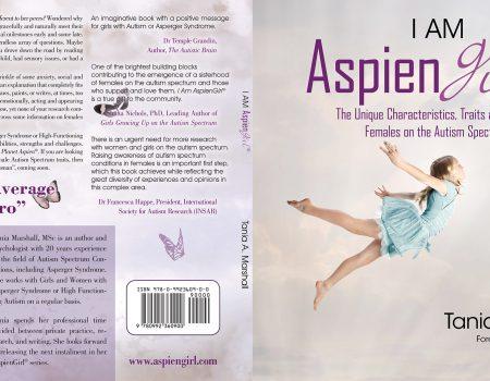 I Am Aspien Girl Print Book