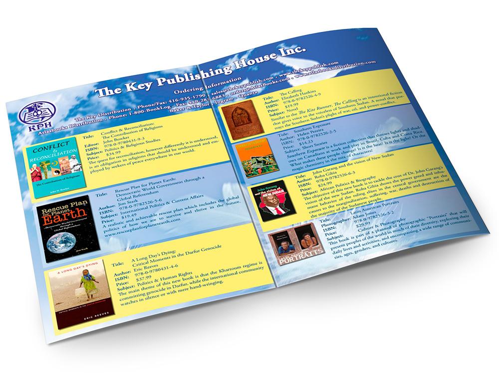 The Key Publishing House  print brochure