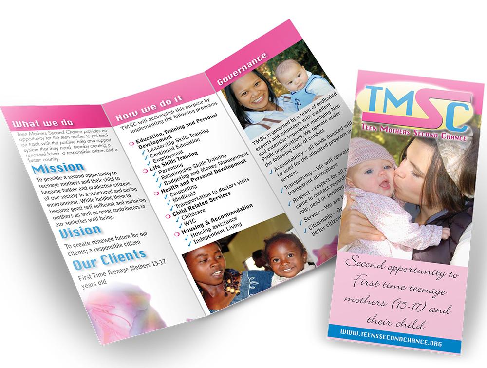 TMSC print brochure